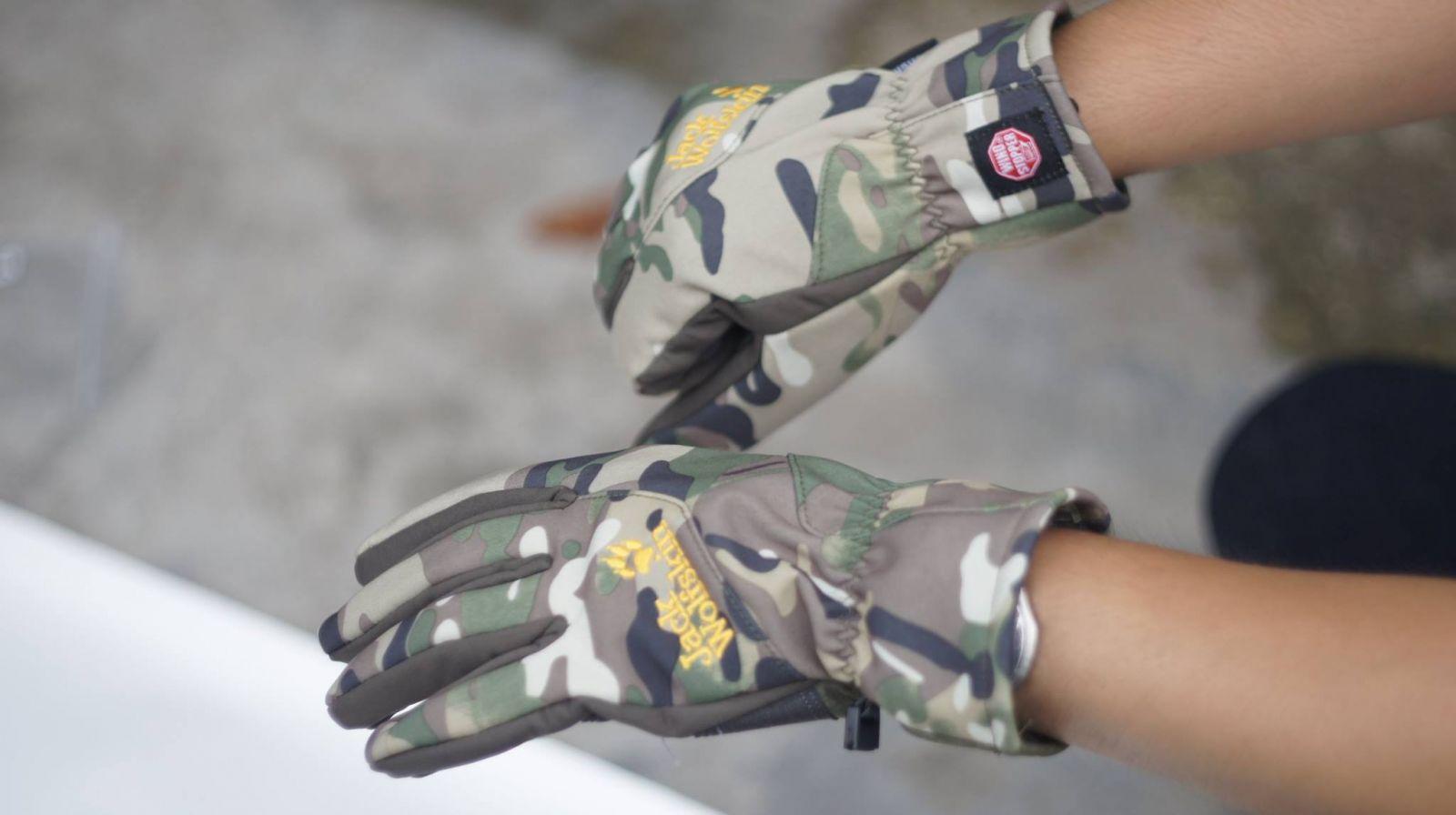 Găng tay chống nước Jack Wolfskin