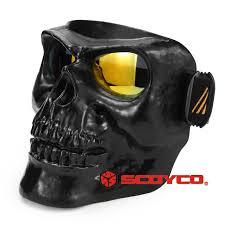 Mặt nạ đầu lâu dùng cho mũ bảo hiểm