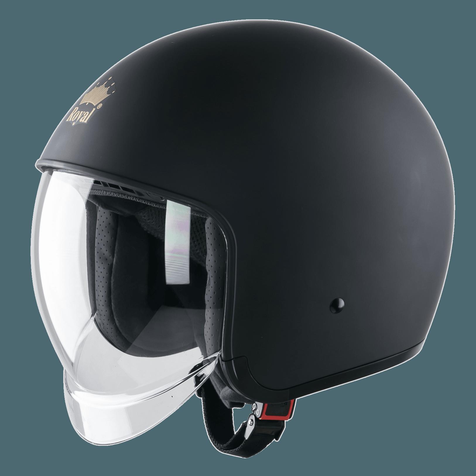 Mũ bảo hiểm 3/4 kính âm Royal M139