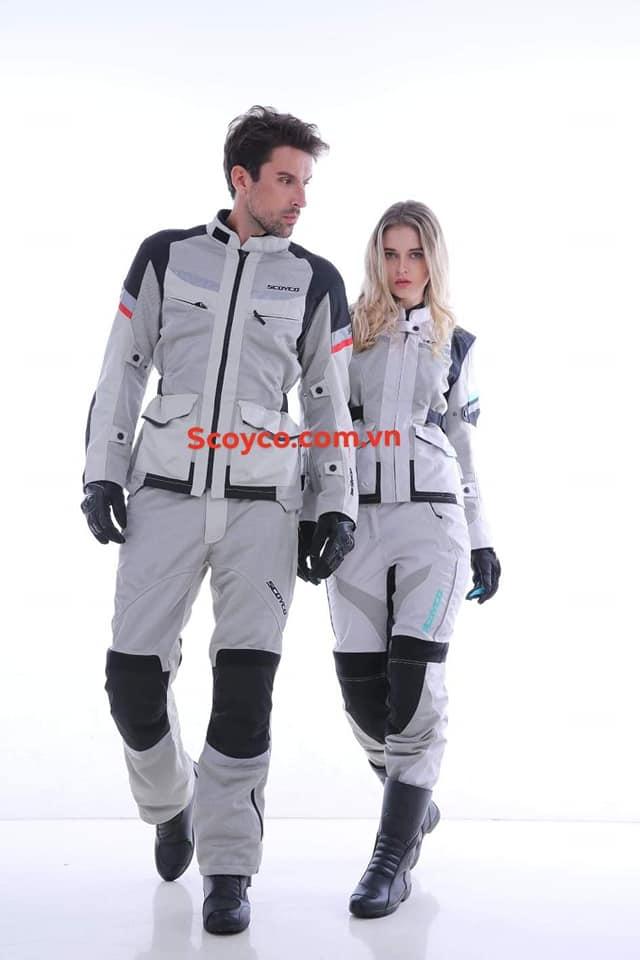Bộ quần áo giáp motor dành cho nữ Scoyco JK60W & P047W