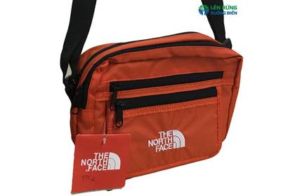 Túi đeo chéo gấp gọn TNF xịn (có móc khóa)